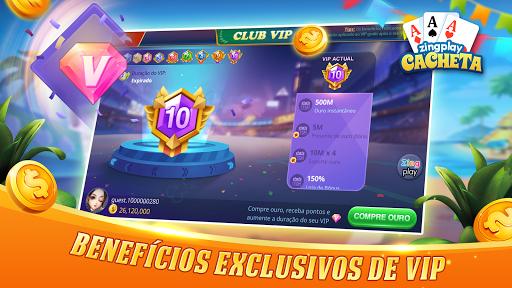 Cacheta ZingPlay: Jogo de cartas online gru00e1tis 1.1 screenshots 6