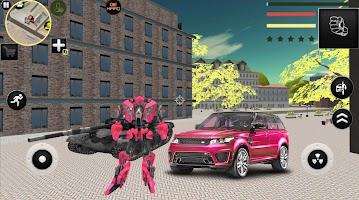 Ranger Robot Car Transforme Futuristic Supercar