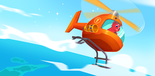 Screenshot of Dinosaur Helicopter - Games for kids