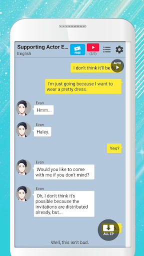 Man in Fiction - Otome Simulation Chat Story  screenshots 2