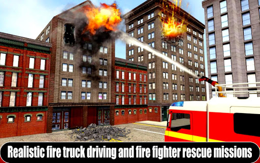 American Fire Fighter 2019: Airplane Rescue apkpoly screenshots 2