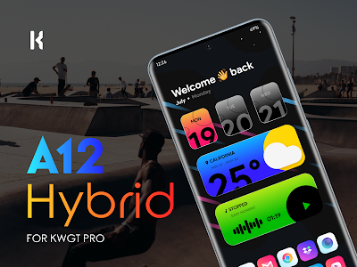 A12 Hybrid for KWGT 1.8 (Paid)
