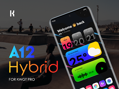 A12 Hybrid for KWGT (MOD APK, Paid/Patched) v1.2 1