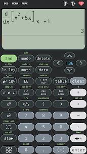 Scientific calculator 36 MOD APK, calc 36 plus (Premium) 1