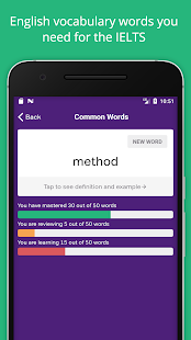 IELTS Exam Preparation: Vocabulary Flashcards
