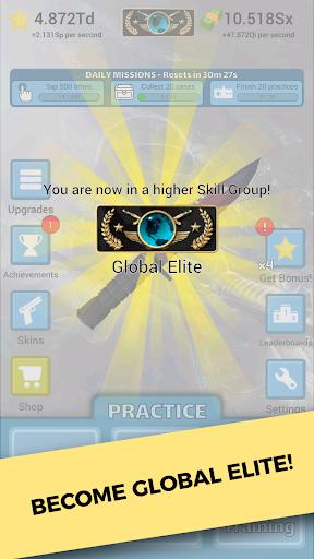 Counter Clicker - Case Strike apktreat screenshots 1