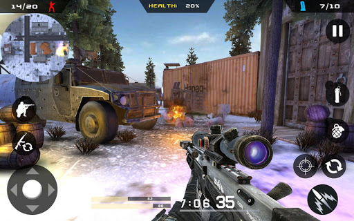 Winter Mountain Sniper - Modern Shooter Combat screenshots 4