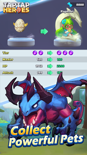 Taptap Heroes:Void Cage 1.0.0303 screenshots 6