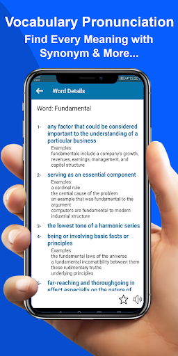 Advanced English Dictionary: Meanings & Definition 3.4 Screenshots 3