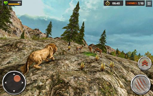 Lion Simulator - Wildlife Animal Hunting Game 2021 1.2.5 screenshots 3