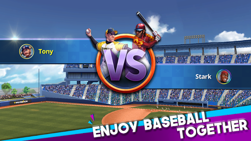 Baseball Clash: Real-time game apktreat screenshots 1