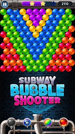 Subway Bubble Shooter - Extreme Bubble Fun Empire apkpoly screenshots 6