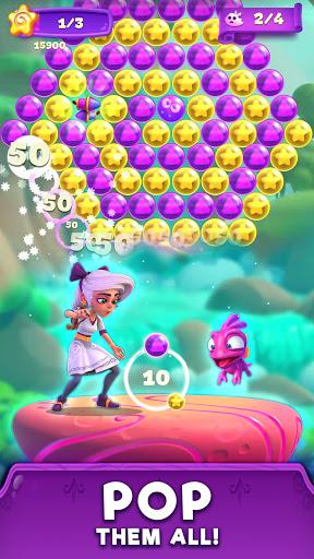 Lunau2019s Quest Bubble Shooter 1.0.2 screenshots 2