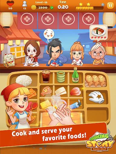 Sushi Master - Cooking story screenshots 9