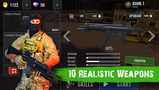 Zombie Shooter Hell 4 Survival Mod Apk (UNLIMITED REWARD GOLD) 2