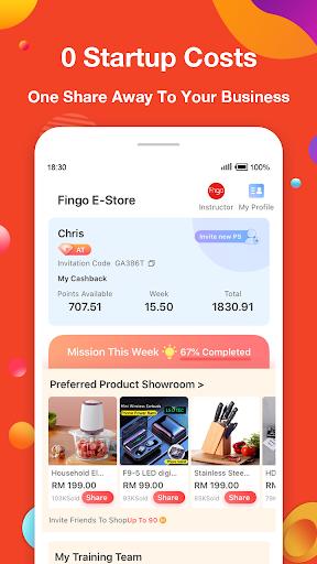 Fingo - Online Shopping Mall & Cashback Official 3.1.80 Screenshots 4