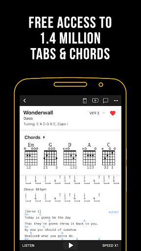Ultimate Guitar: Tabs & Chords 6.5.7 Screenshots 1