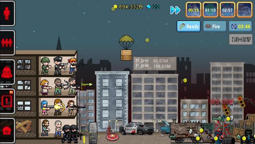 Télécharger Gratuit 100 DAYS - Zombie Survival mod apk screenshots 4