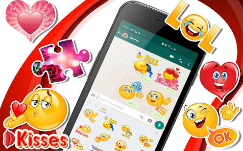 ud83dudc95ud83dude0dWAStickerApps animated stickers for Whatsapp 4.7.1 Screenshots 1