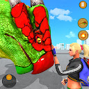 Dragon Turtle City Rescue- Wild Animal Attack Game