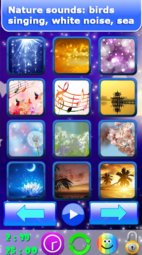Baby sleep sounds: white noise, nature 2.2 Screenshots 1