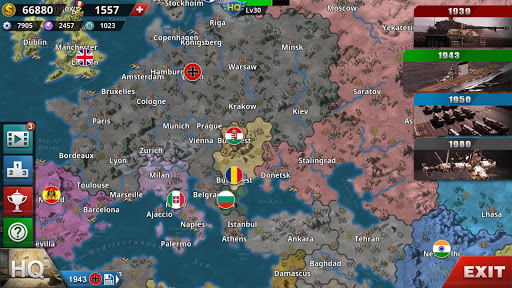 World Conqueror 4 - WW2 Strategy game 1.2.52 screenshots 2