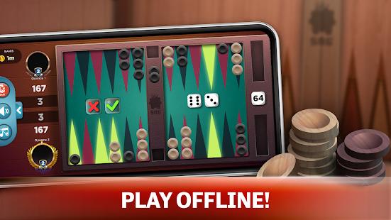Backgammon - Offline Free Board Games 1.0.1 Screenshots 1