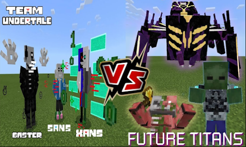 H2V Future Titan for Minecraft PE Hack Game Android & iOS 1