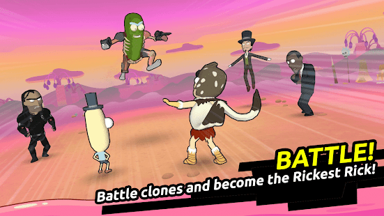 Schermata di Rick e Morty: Clone Rumble