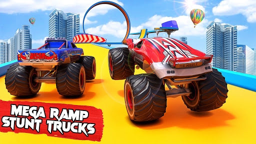 Top Monster Truck Stunts: Free Car Racing Games  screenshots 1