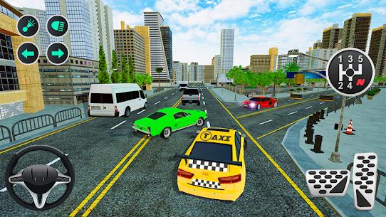 Grand Taxi Simulator APK MOD HACK (Dinero Infinito) 2