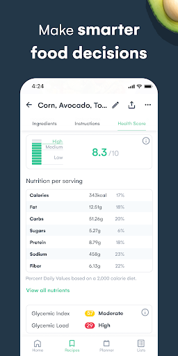 Whisk: Recipe Saver, Meal Planner & Grocery List 1.6.1 screenshots 6