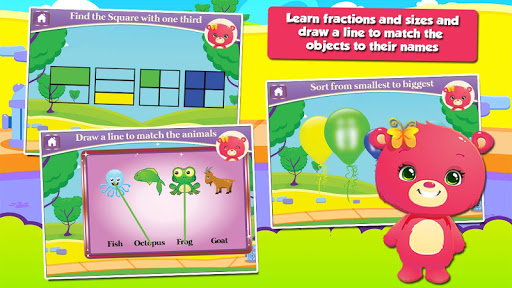 Baby Bear First Grade Games screenshots 3