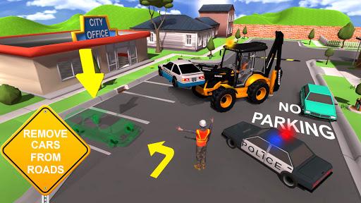 JCB Excavator Crane 2021: 3D City Construction screenshots 8