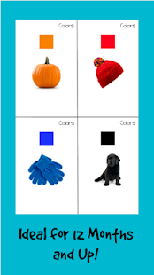 Learn First Words - Baby Flashcards