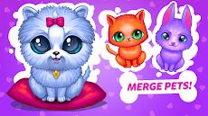 Merge Cute Animals 2: Pet mergerのおすすめ画像2