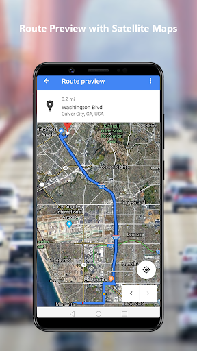 GPS Navigation Maps Directions - Route Planner 2.5 Screenshots 2