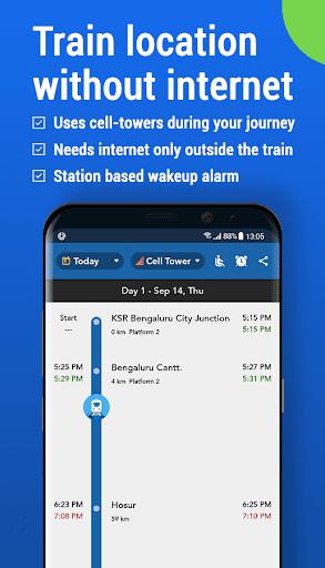 Where is my Train : Indian Railway Train Status  Screenshots 1
