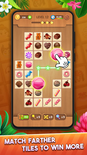 Tile Puzzle: Pair Match and Connect Game 2021 Apkfinish screenshots 9