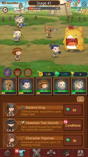 Job Hunt Heroes : Idle RPG apktreat screenshots 2