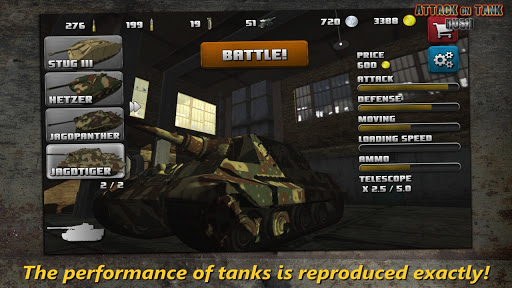 Attack on Tank : Rush - World War 2 Heroes 3.5.1 screenshots 1