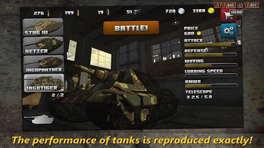 Attack on Tank: Rush v3.5.1 MOD (Money/Gold) APK 1
