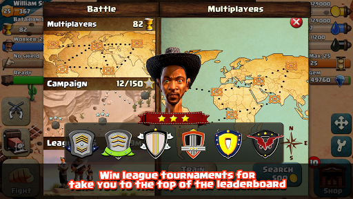 War Wild West android2mod screenshots 2