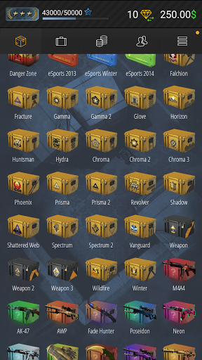Case Simulator Ultimate - CS go skins box crate 8.7 screenshots 2