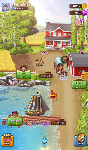 Pocket Ships Tap Tycoon: Idle Seaport Clicker apkpoly screenshots 21