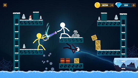 Supreme Stickman Battle Warrior: Duelist Fight Mod Apk 1.13 (A Lot of Money) 6