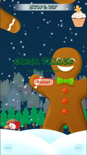 Flappy Santa 1.0 screenshots 3