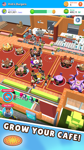 Idle Diner! Tap Tycoon screenshots 1