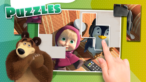 Masha and the Bear - Game zone 2.4 screenshots 3