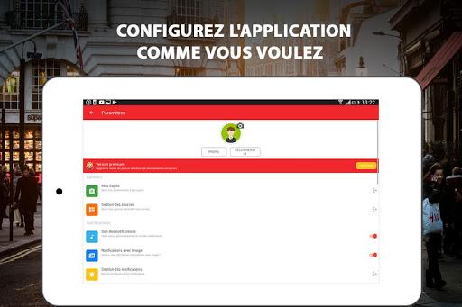 Alertes info: Actualitu00e9 locale et alerte d'urgence 10.7.0 Screenshots 17